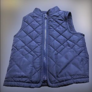 {Old Navy} Zip-Up Blue Puffer Vest